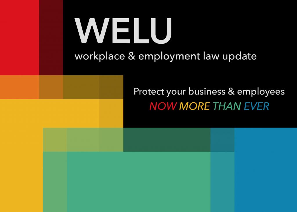 2020 Workplace & Employment Law Update by Employers Group